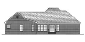 Country House Plan #041-00013 Elevation Photo