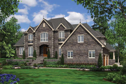 4 Bed, 3 Bath, 5161 Square Foot House Plan - #2559-00590