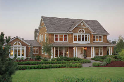 4 Bed, 6 Bath, 4790 Square Foot House Plan - #2559-00600