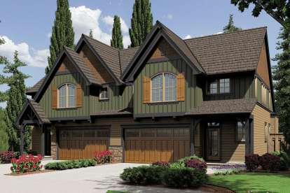 2 Bed, 2 Bath, 1626 Square Foot House Plan - #2559-00645