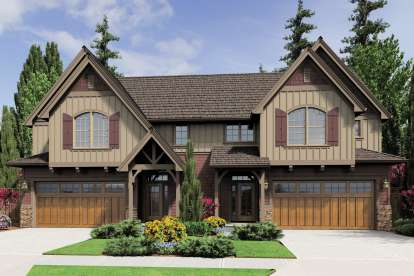 2 Bed, 2 Bath, 1639 Square Foot House Plan - #2559-00646