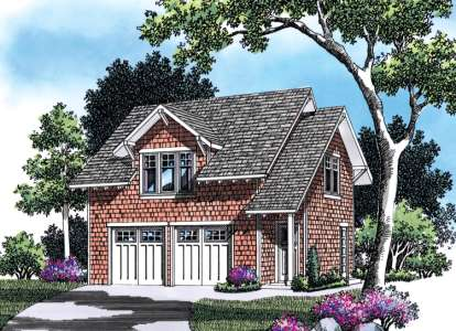 1 Bed, 1 Bath, 1345 Square Foot House Plan - #2559-00654