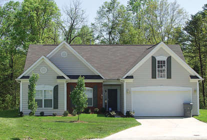 3 Bed, 2 Bath, 1458 Square Foot House Plan #3323-00020