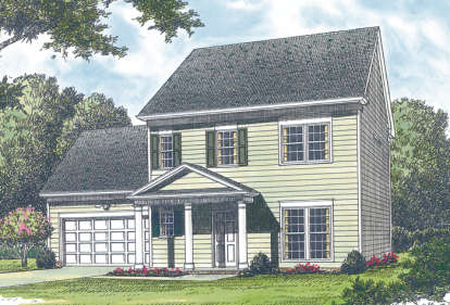 3 Bed, 2 Bath, 1550 Square Foot House Plan - #3323-00029