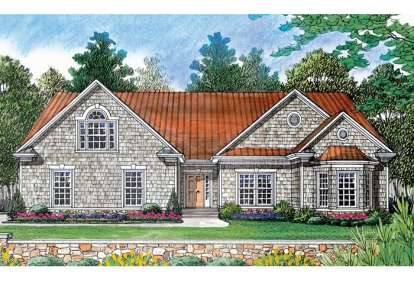 2 Bed, 2 Bath, 1571 Square Foot House Plan - #3323-00034