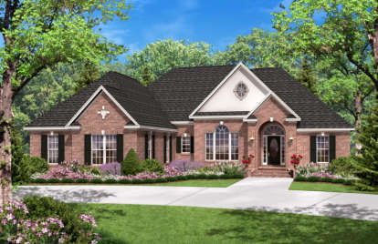 3 Bed, 2 Bath, 2300 Square Foot House Plan - #041-00018