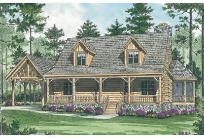 2 Bed, 2 Bath, 1762 Square Foot House Plan - #3323-00044