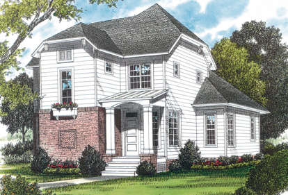 3 Bed, 2 Bath, 1898 Square Foot House Plan - #3323-00047