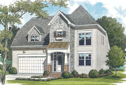 3 Bed, 2 Bath, 1920 Square Foot House Plan - #3323-00050