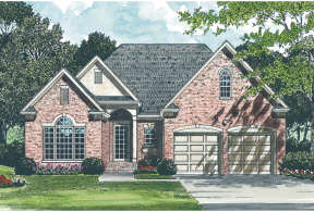 Traditional House Plan #3323-00052 Elevation Photo
