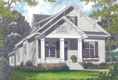 3 Bed, 2 Bath, 2095 Square Foot House Plan - #3323-00074