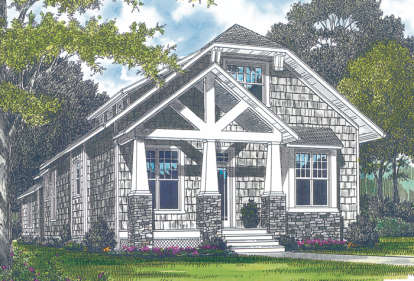3 Bed, 2 Bath, 2107 Square Foot House Plan - #3323-00077