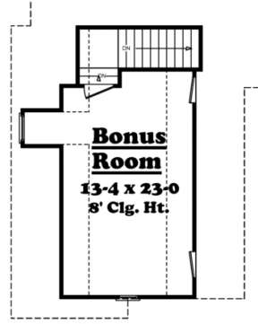 Second Floor for House Plan #041-00019