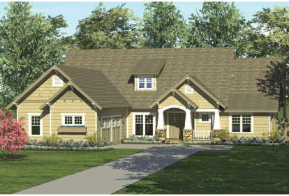 3 Bed, 2 Bath, 2487 Square Foot House Plan - #3323-00130