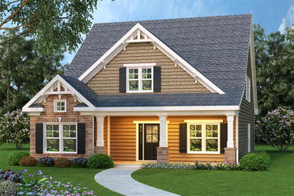 4 Bed, 2 Bath, 2250 Square Foot House Plan - #009-00108