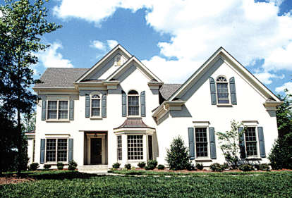 5 Bed, 3 Bath, 2960 Square Foot House Plan - #3323-00157
