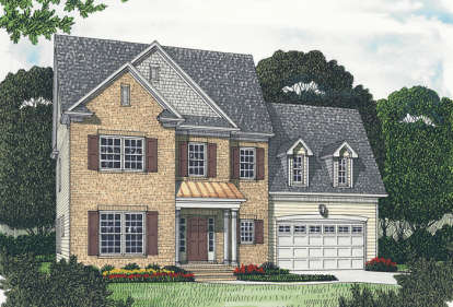 5 Bed, 3 Bath, 2799 Square Foot House Plan - #3323-00187