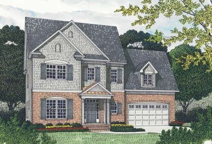 5 Bed, 3 Bath, 2797 Square Foot House Plan - #3323-00189