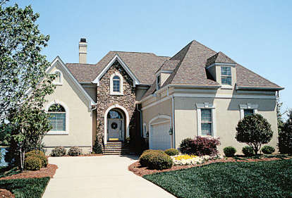 5 Bed, 3 Bath, 4872 Square Foot House Plan - #3323-00223
