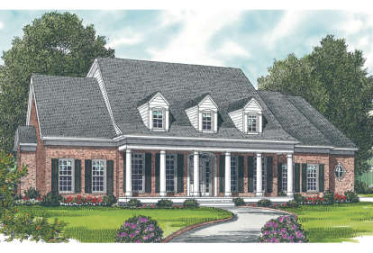 4 Bed, 3 Bath, 3003 Square Foot House Plan - #3323-00224