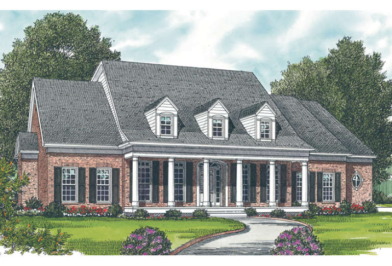 Country House Plan #3323-00224 Elevation Photo