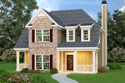 3 Bed, 3 Bath, 2170 Square Foot House Plan - #009-00109