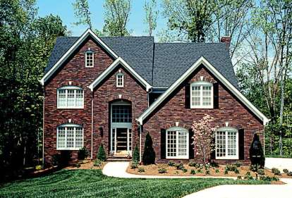 5 Bed, 4 Bath, 4090 Square Foot House Plan - #3323-00233