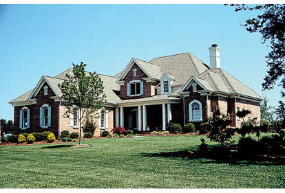4 Bed, 3 Bath, 3367 Square Foot House Plan - #3323-00245