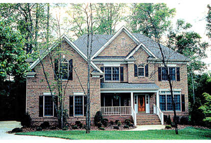 5 Bed, 4 Bath, 3059 Square Foot House Plan - #3323-00246