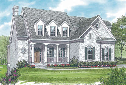 4 Bed, 3 Bath, 3141 Square Foot House Plan - #3323-00263