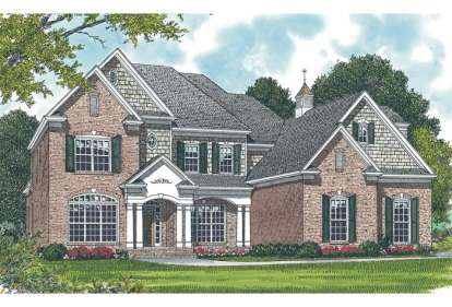 4 Bed, 4 Bath, 3196 Square Foot House Plan - #3323-00265