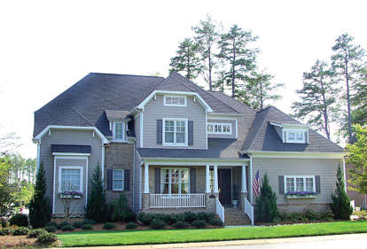 6 Bed, 4 Bath, 4884 Square Foot House Plan - #3323-00292