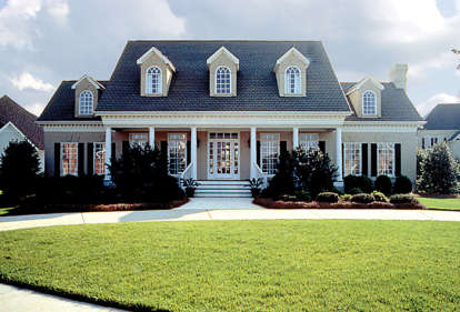 4 Bed, 3 Bath, 3338 Square Foot House Plan #3323-00313