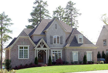 5 Bed, 4 Bath, 4722 Square Foot House Plan - #3323-00320