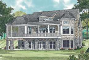 Cottage House Plan #3323-00339 Elevation Photo