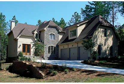 4 Bed, 3 Bath, 3620 Square Foot House Plan - #3323-00349