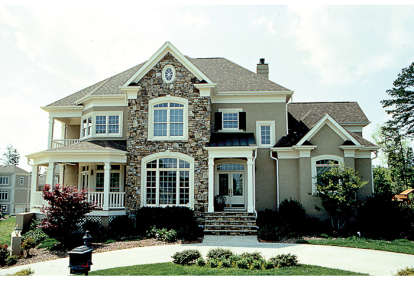 4 Bed, 3 Bath, 4528 Square Foot House Plan #3323-00376