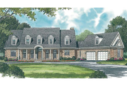 3 Bed, 3 Bath, 3984 Square Foot House Plan - #3323-00379