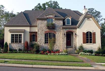 5 Bed, 4 Bath, 5503 Square Foot House Plan - #3323-00384