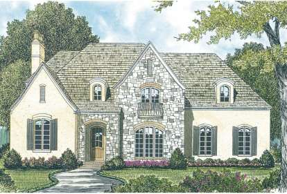 5 Bed, 4 Bath, 5315 Square Foot House Plan - #3323-00387