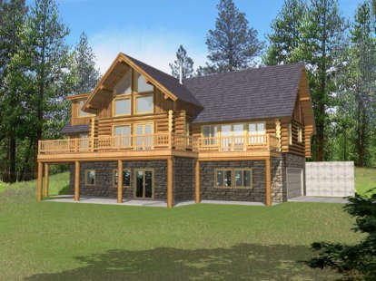 3 Bed, 2 Bath, 2513 Square Foot House Plan - #039-00051