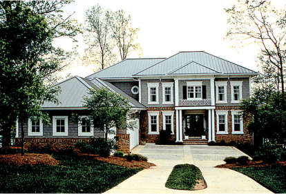 5 Bed, 4 Bath, 5892 Square Foot House Plan - #3323-00413