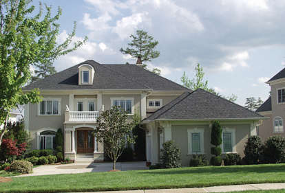 5 Bed, 4 Bath, 5692 Square Foot House Plan - #3323-00415