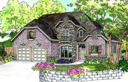 3 Bed, 2 Bath, 2339 Square Foot House Plan - #035-00367