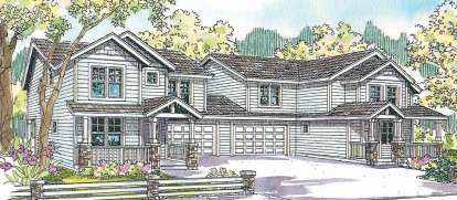 4 Bed, 2 Bath, 1488 Square Foot House Plan - #035-00500