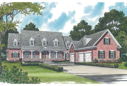 4 Bed, 3 Bath, 5106 Square Foot House Plan - #3323-00493
