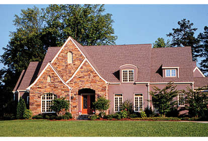 6 Bed, 4 Bath, 5123 Square Foot House Plan - #3323-00495