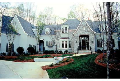 5 Bed, 4 Bath, 5186 Square Foot House Plan - #3323-00499