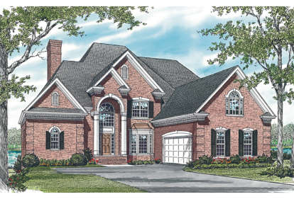 6 Bed, 5 Bath, 5248 Square Foot House Plan - #3323-00502