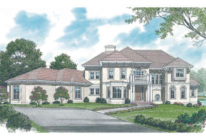 6 Bed, 5 Bath, 7170 Square Foot House Plan - #3323-00505